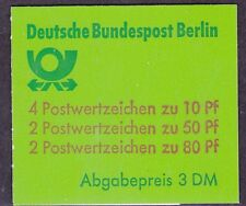 Germany Berlin 9N391c MNH 1980 Complete Booklet (See 2 Scans)