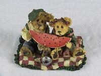 """Vintage Boyd's Bears & Friends """"Buster and Melonie McRind Sweet Memories"""" Figure"""