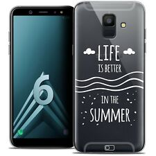 "Coque Crystal Gel Pour Samsung Galaxy A6 2018 (5.45"") Souple Summer Life's Bette"