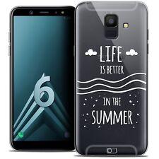 "Coque Crystal Gel Pour Samsung Galaxy A6 2018 (5.45"") Souple Summer Life's Bette"