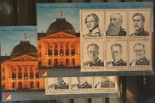"""Belgique, België, 2 Blocs de timbres """" Rois """" neufs MNH, bien"""