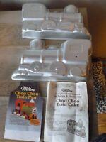 Vintage 1974 Wilton CHOO CHOO TRAIN 502-852 3D Cake Pan Free Shipping!!!