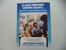advertising Pubblicità 1981 PIAGGIO VESPA/APE