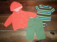 Baby Gap Boy 3-6M Fall Clothes Outfit Lot Hoodie Jacket Bodysuit Pants 3 6 Month