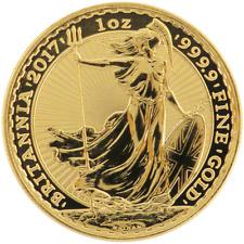2017 U.K. 100 Pound 1 oz Gold Britannia Brilliant Uncirculated