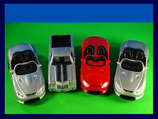 Welly Collection 3 Mustang Mach III & 1 El Camino 1:24 Scale DieCast Lot of 4