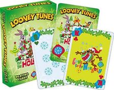 LOONEY TUNES HOLIDAY - PLAYING CARD DECK - 52 CARDS NEW - CHRISTMAS 52460