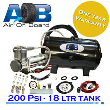 448 Air compressor + 18L Tank 12V AOB ARB VIAR TJM Air Ride Assist 4x4