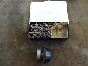 Hobbbymat BFE65 mill collet chuck + collets (11)