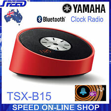 Yamaha TSX-B15 Clock Radio & Bluetooth Speaker – RED