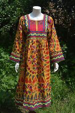 Kuchi Afghan Banjara Gypsy Tribal Belly Dancing Reproduction Costume Dress Tunic