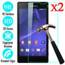 2X 9H Tempered Glass Screen Protector Film Guard For Sony Xperia XA Z4 XZ2 M5 T3