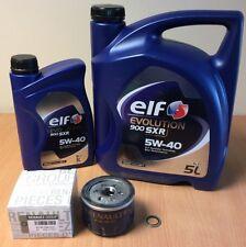 Genuine Renault Megane 225 250 Sport & Clio 197 Elf Oil & Filter Service Kit