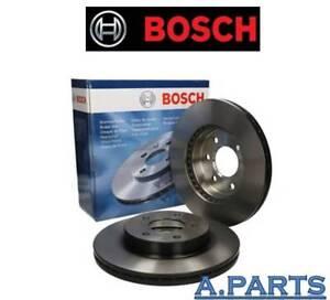 Bosch 2X Disco de Freno Eje Delant. Mercedes Clase C Clase E W204 S204 W212 S212