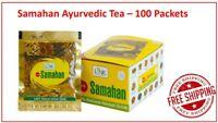 Link Samahan Ayurveda Herbal Tea (100 Packets) for Cold Sore &Cough Throat