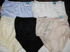 5 prs VANITY FAIR Brief PERFECTLY YOURS  15712 Panty Mixed COLORS 8 / XL