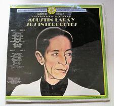 AGUSTIN LARA Y SUS INTERPRETES historia musica popular mexicana IV 2LP SEALED