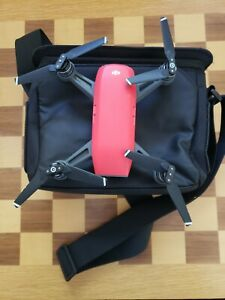 DJI Spark Drone Red Great Condition