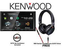 """New listing Kenwood Ddx794 6.95"""" Dvd Receiver w/ Built in Bluetooth & Over the Ear Headphone"""