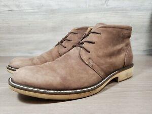 ECCO Turn GORE-TEX Chukka Tie Boots, Men's Size 8-8.5/EU 42, Brown
