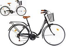 "Bicicleta de Paseo Urbana Citybike SHIMANO. ALUMINIO, 18 VEL, RUEDA de 28"""