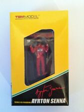 TSM 1991 McLaren 1:43 Scale Figure Ayrton Senna Arms Raised Type 2 TSM12AC15 L3