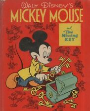 """WALT DISNEY - """"MICKEY MOUSE AND THE MISSING KEY"""" - CARTOON STRIP - HB"""