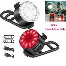 USB ricaricabile LED per bicicletta faro anteriore per bici con posteriore luce