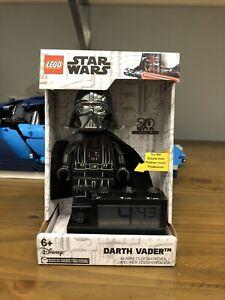Lego Star Wars 9004216 Darth Vader Alarm Clock 20 Years Anniversary!