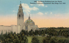 Postcard DB A367 Cal Building from North Panama Calif Exposition San Diego 1915