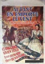Affiche Belge AUTANT EN EMPORTE LE VENT Gone with the Wind VIVIAN LEIGH 1939