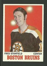 Fred Stanfield Boston Bruins 1970-71 Topps Hockey Card #5 NM/M