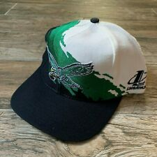 Vintage NWOT NEW Philadelphia Eagles Logo Athletic Splash Snapback Hat 90s Rare