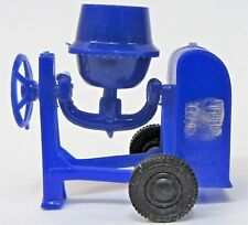 c.1960 Blue-Box 7430 CEMENT MIXER Hong Kong dark blue plastic Matchbox Copy