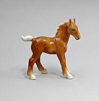 9942593 Porzellan Figur Pferde-Fohlen Wagner & Apel H12cm