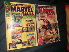 Marvel Tales 1964 Marvel #4 & 11 GD reprints amazing spiderman 7 lot collection
