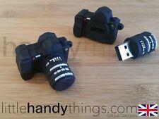 Mini Black Camera USB 8GB Flash Drive Portable Storage Key/Pen Gift
