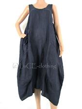 Unbranded Plus Size Linen Sleeveless Dresses for Women