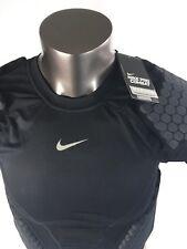 Nike Dri Fit Pro Combat HYPERSTRONG Shirt 4 pad padded 533021 black XL NWTS