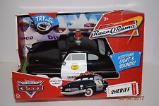 "Disney Pixar Cars Race ORama Sheriff - Age 3+- Boy- 11"" Long- Review Pics - NIB"