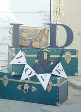 """Personalize Metal Letters Wedding  Decoration Vintage $20 per letter 12"""" x 12"""""""
