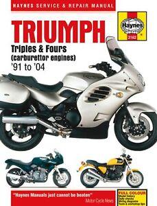 Haynes Service Repair Manual Triumph 750 900 1000 1200 Trident Daytona WORKSHOP