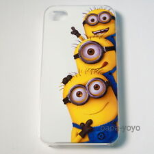 Despicable Me Minion hard phone case for iPhone 4 4s iphone4 iphone4s
