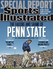 November 21, 2011 Joe Paterno, Penn State Nittany Lions Sports Illustrated A
