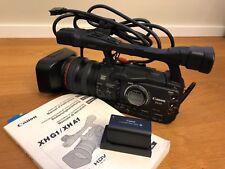 Canon xh a1 HD Camcorder Schwarz