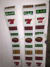 IGT Used S-Plus slot machine WILD CHERRY - BACKLIT REEL STRIPS