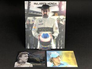 Fernando Alonso Futera 2005 Grand Prix Trading Card #1 Pace McLaren