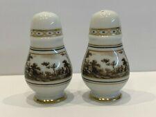 Richard Ginori Fiesole Italian Porcelain Salt And Pepper Shakers