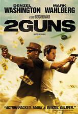 2 Guns (Blu-ray, 2013) Mark Wahlberg, Denzel Washington