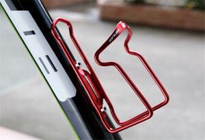 GUB Bike Bottle Cage Aluminium Bicycle Water Bottle Holder Rack Cage w/ 2 Bolts